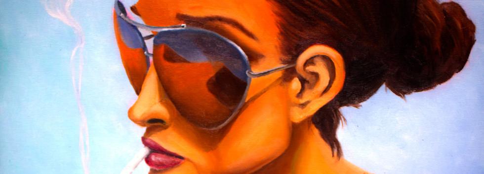 מדבר שיר למדן שמן על בד  50x60 ס״מ 2015 למכירה Shir Lamdan oil on canvas 50 x60 cm for sale