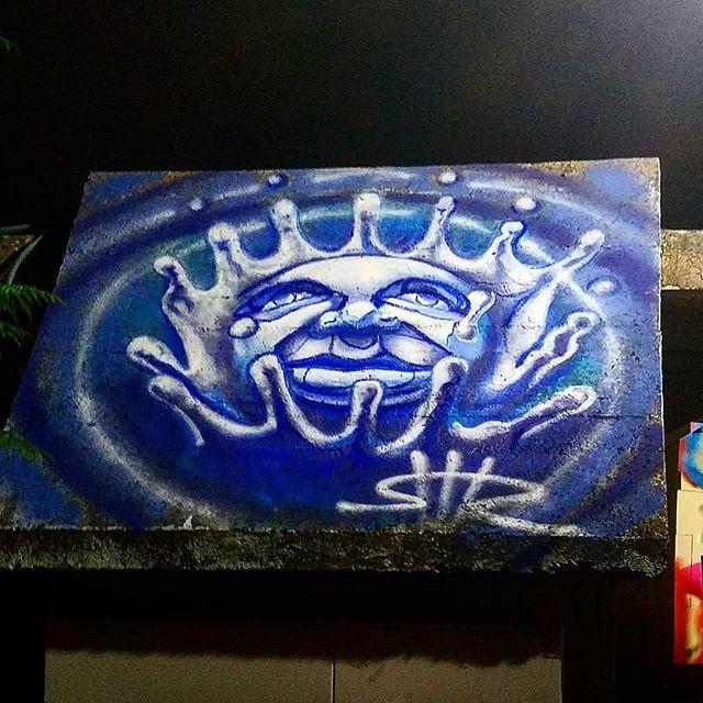 Shir Lamdan Free hand spray & acrylic. פסטיבל מתחת לפנס 6 Givat Haviva Israel