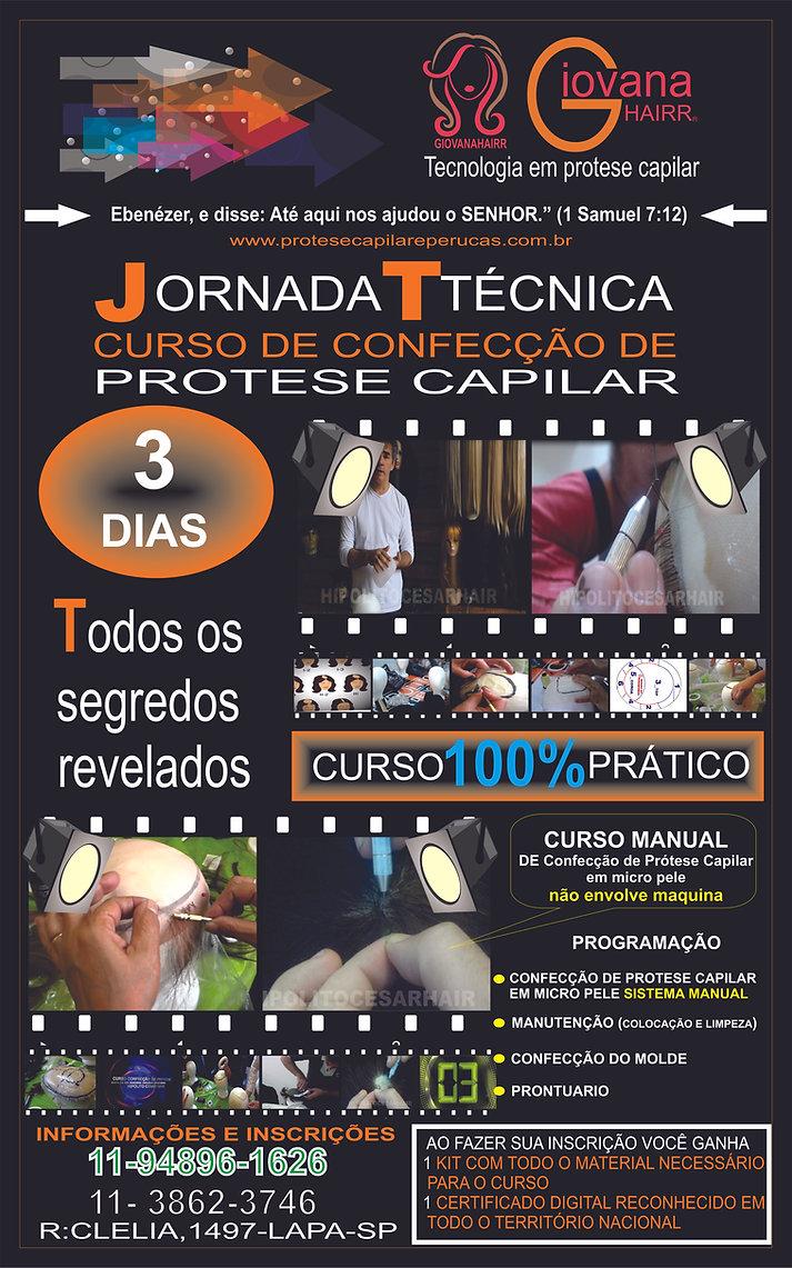 BANER  PERMANENTE CURSO CONFECÇÃO DE PRO