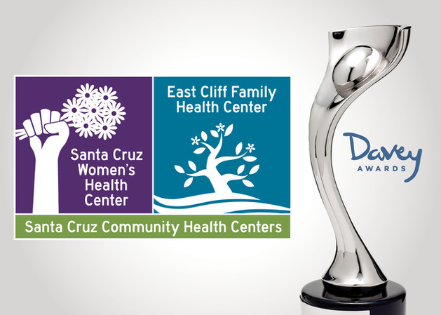 Santa Cruz Community Health Centers Logo Design Wins Big at the Davey Awards!