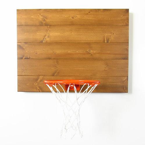 Classic Indoor Wood Basketball Hoop