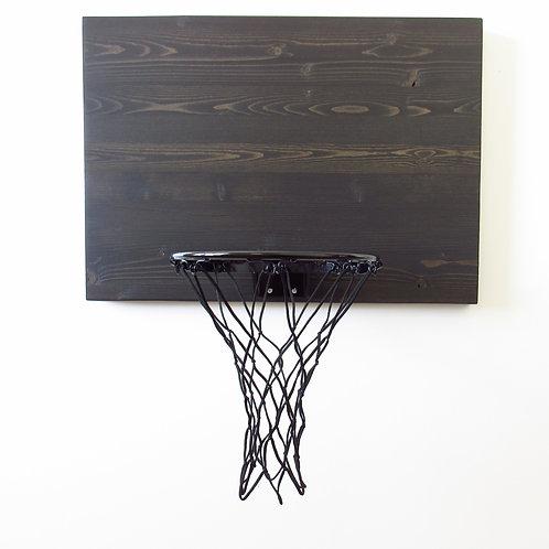 Black Wash Indoor Basketball Hoop