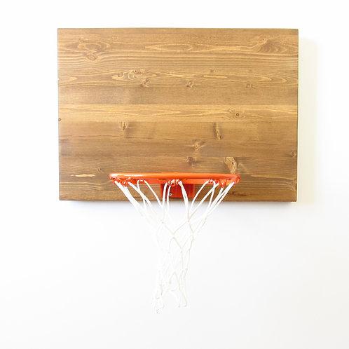 Traditional Indoor Wood Basketball Hoop