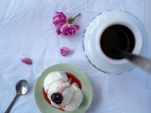 Ricotta & Sour Cherry Gelato