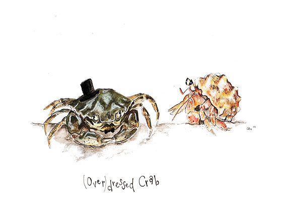 Over-dressed Crab