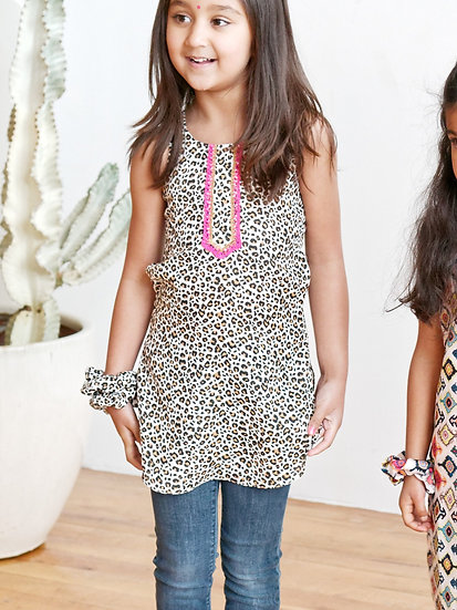 Cheetah Girl Kurti
