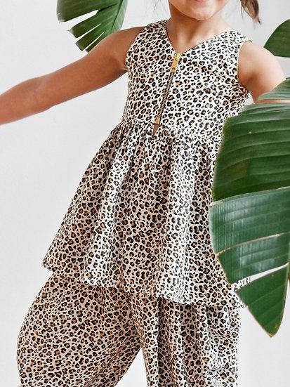 Cheetah Girl Peplum