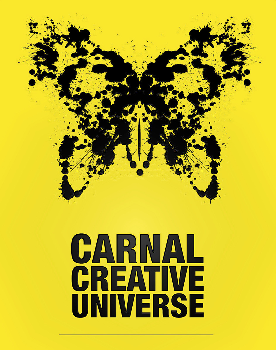 Carnal Creative Universe communication poster