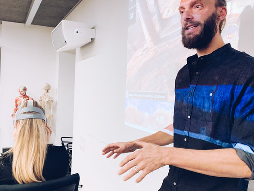 MONA Virtual Reality Therapy, presentation at CPS Lugano