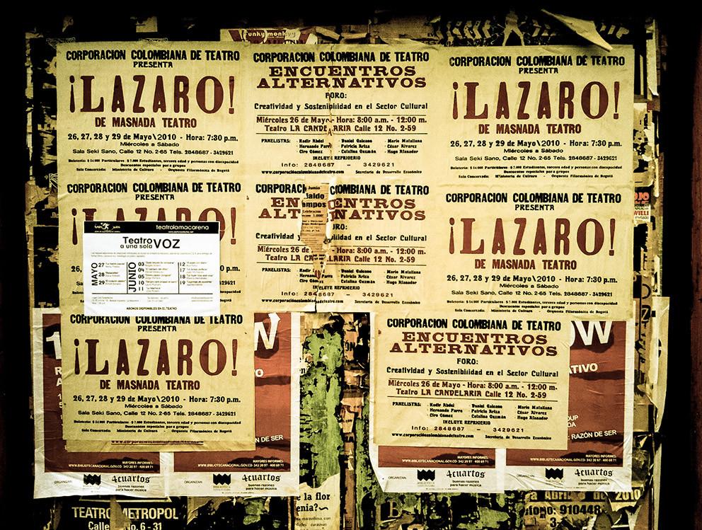 ¡Lazaro! obra teatro Bogota Colombia