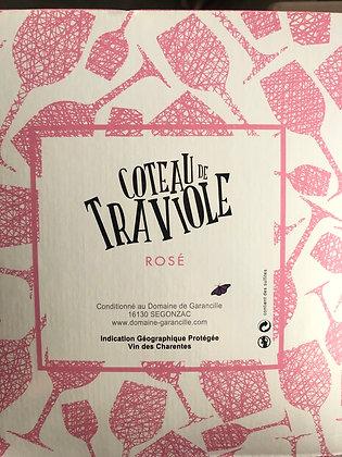 Cubi 5L coteau de traviole - Rosé