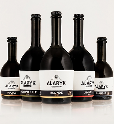 PACK 6 BIERES ALARYK 33CL