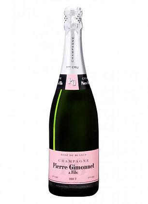 Champage rosé de blanc - Gimonnet