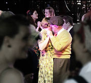 Ragroof Tea Dance Yellow and BW by Gabri