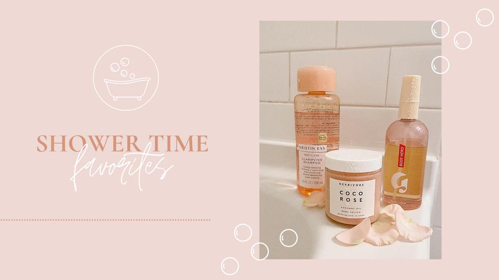 Shower Time Favorites
