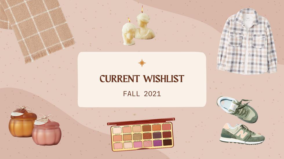 Current Wishlist: Fall 2021