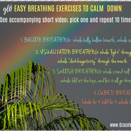 4 Easy, Anti-Anxiety Breathing Exercises (also great for LUNG HEALTH)