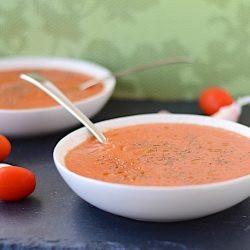 GLO Tomato Coconut Gazpacho