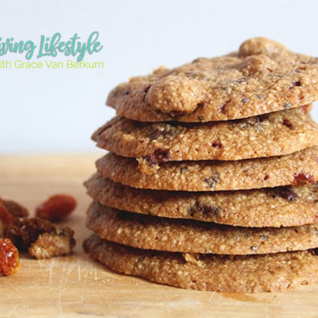 GLO Cashew Goji Superfood Cookies