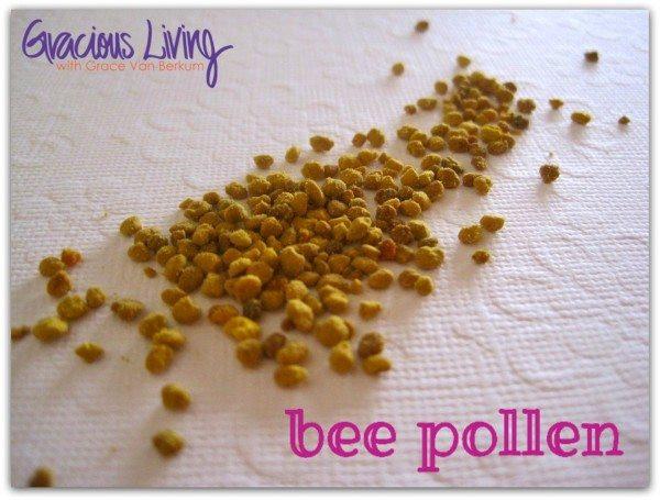 bee pollen-Gracious Living- Grace Van Berkum-vegan retreats