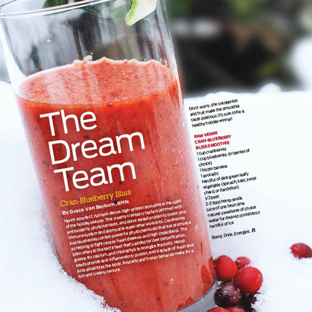 "Gracious Living ""Healthy Holiday Tips"" in Sweat Equity Magazine"