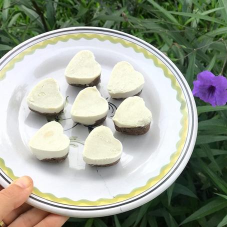GLO Lemon Coconut Protein Bites
