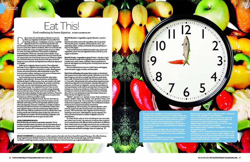 Sweat Equity Magazine May/June 2013-Grace Van Berkum