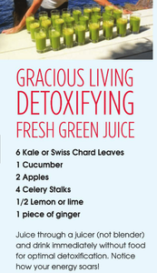 Grace Van Berkum-juice fast-detox recipe