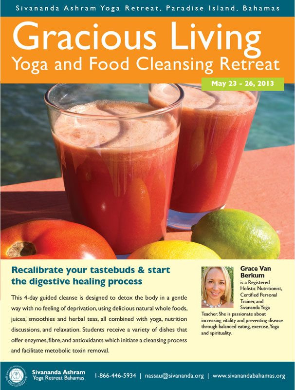 Grace Van Berkum-Gracious Living-Sivananda Yoga Ashram 2013