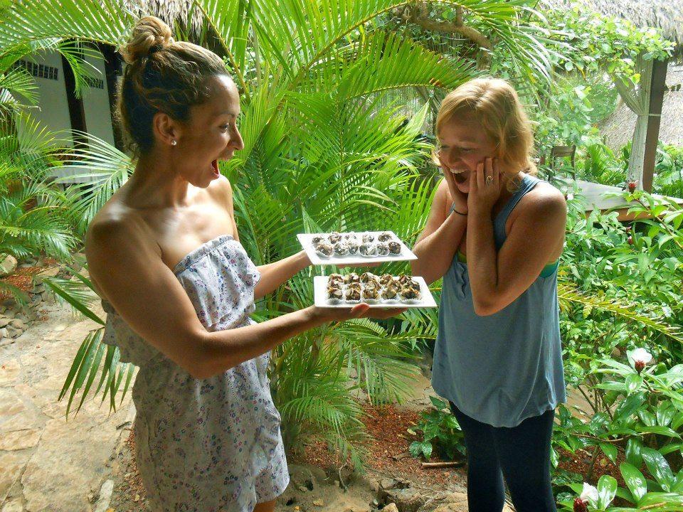 Grace Van Berkum-Gracious Living Almond Cacao Truffles
