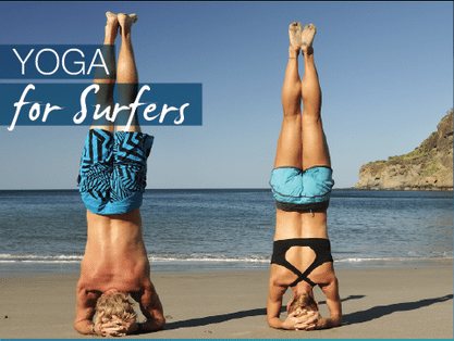 Yoga for Surfers by Grace Van Berkum in SurfNica Magazine