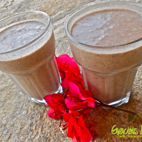 Gracious Living Chocolate Fire Smoothie