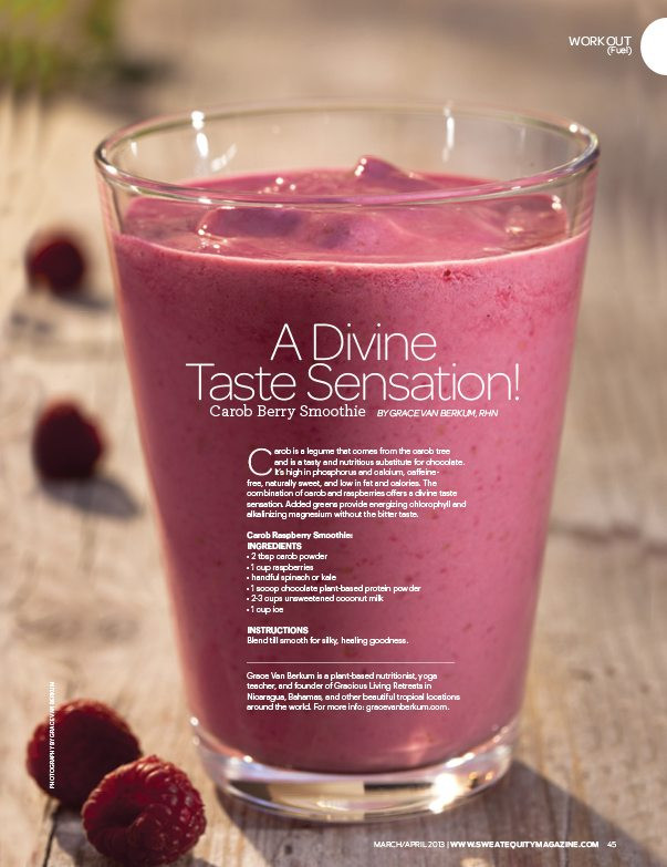 Grace Van Berkum-Sweat Equity Magazine-smoothie recipe