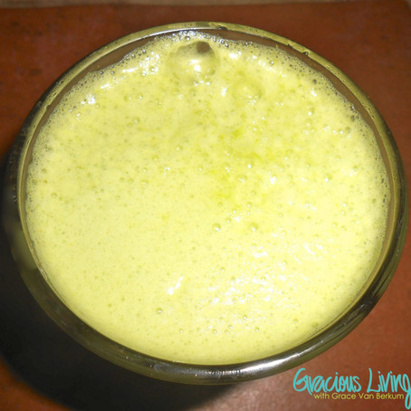 GLO Citrus Sunshine Zinger Smoothie