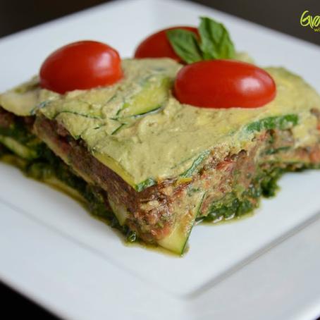 Raw Lasagna (Vegan, Plantbased, Gluten-Free) + 5 more RAW Recipes