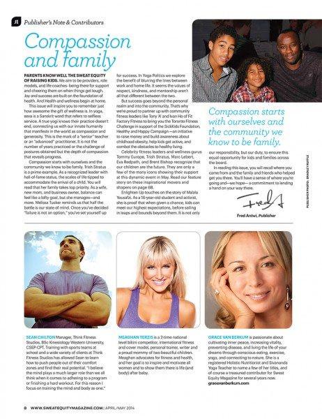 Sweat Equity Magazine-Grace Van Berkum