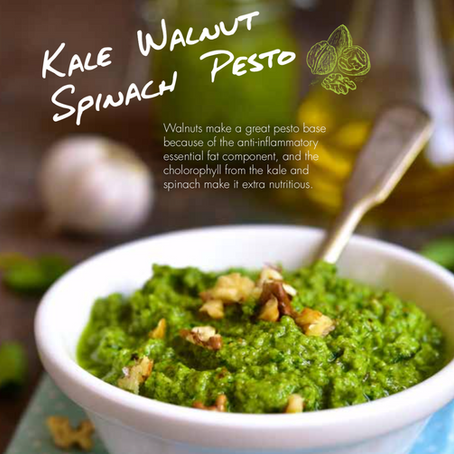 GLO Kale Walnut Pesto