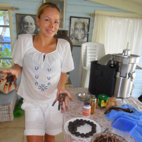 Grace Van Berkum- raw chocolate truffles-Gracious Living