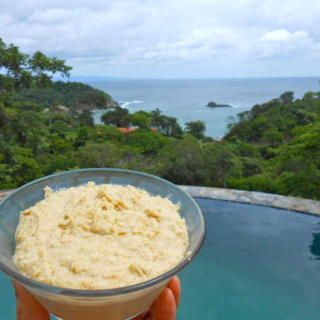 GLO Orange Jalapeno Hummus (vegan, gluten-free)