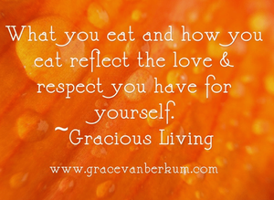 Gracious Living-Grace Van Berkum
