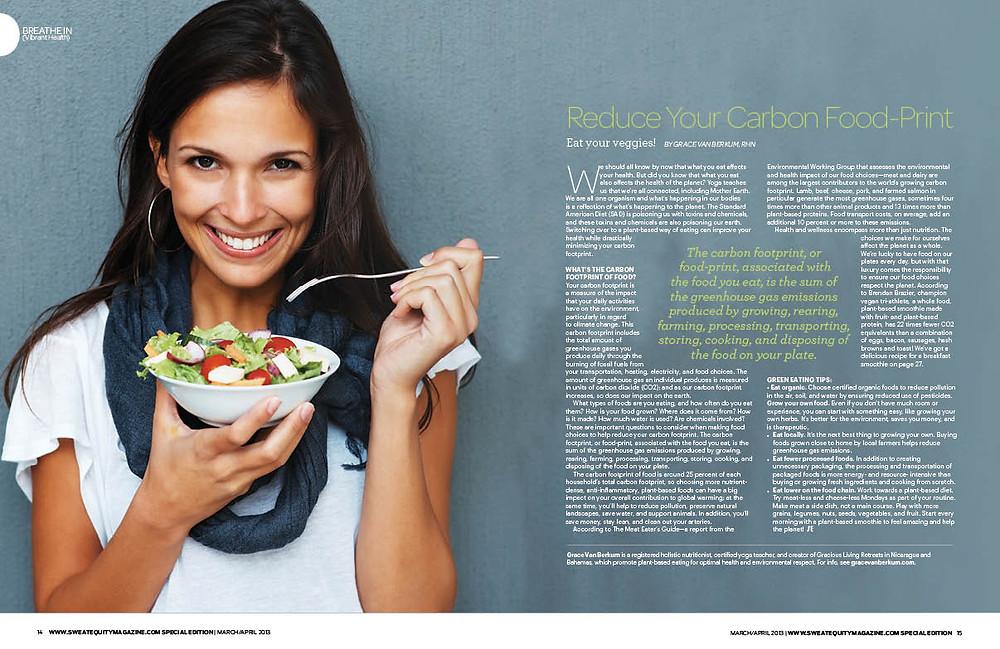 Grace Van Berkum-Sweat Equity Magazine Special Edition 2013