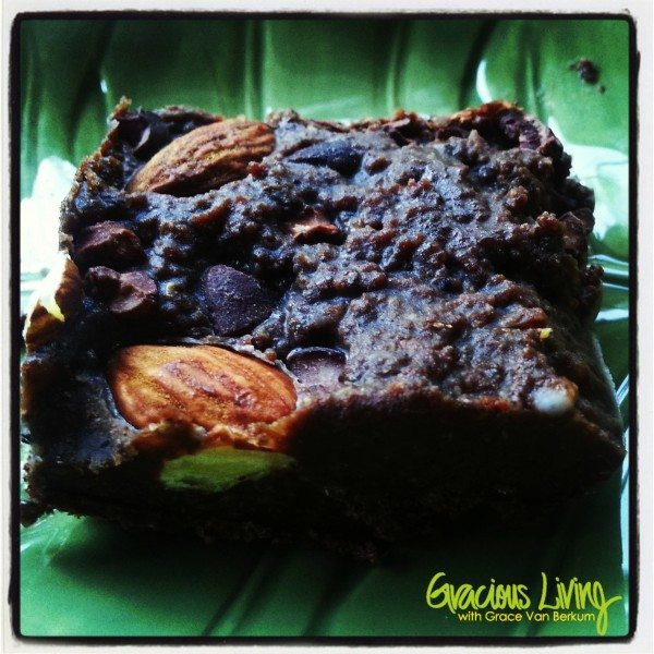 Grace Van Berkum-Gracious Living-fudge-raw-vegan