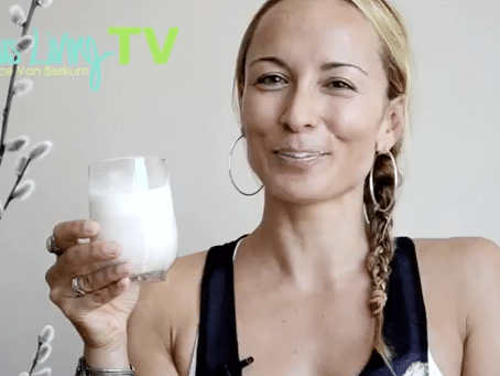 Gracious Living TV: Almond Milk