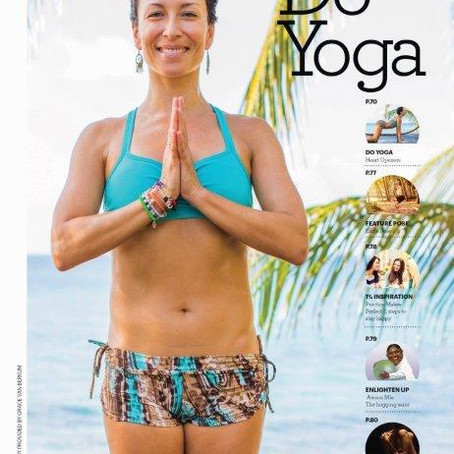 Gracious Living Tropical Yoga Heart Openers in Nicaragua