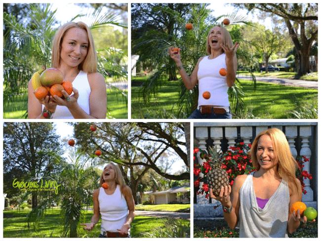 Grace fruit collage