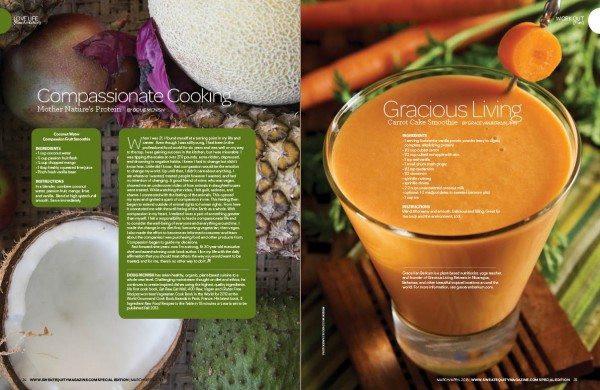 Sweat Equity-Gracious Living Carrot Cake Smoothie-Grace Van Berkum