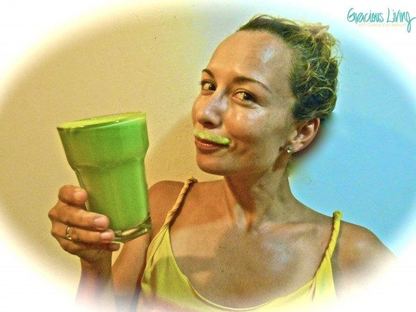 Grace Van Berkum-Gracious Living-green juice recipe