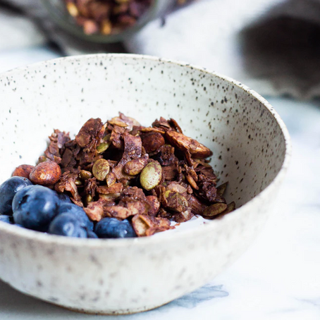 GLO Homemade Granola Recipe