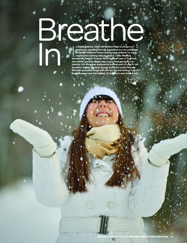 Grace Van Berkum-Sweat Equity Magazine
