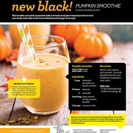 GLO Creamy Pumpkin Protein Smoothie